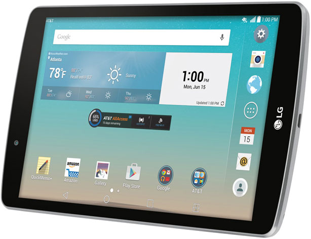 nuovo tablet lg