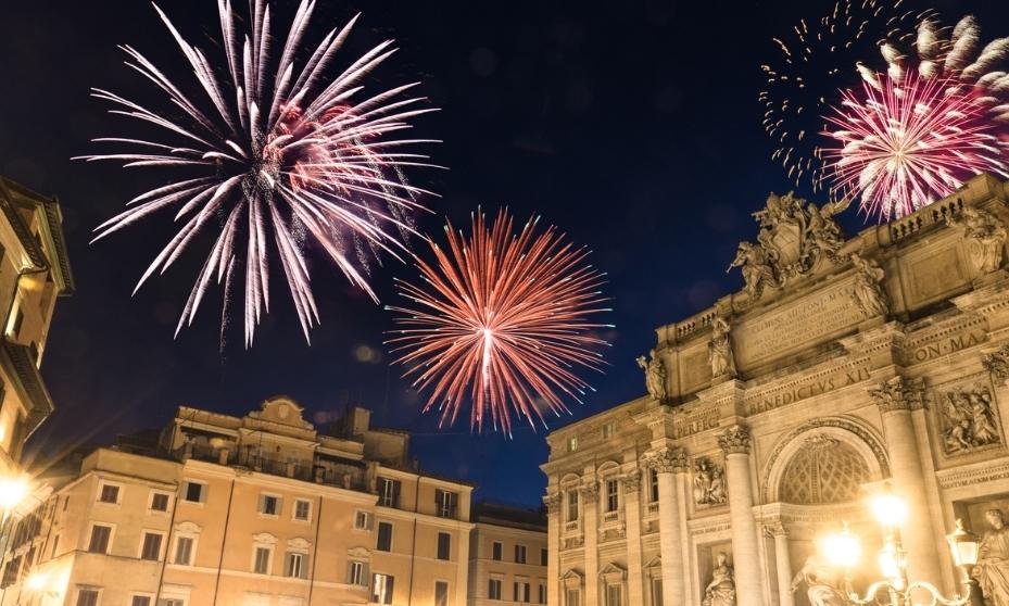 capodanno a Roma romantico
